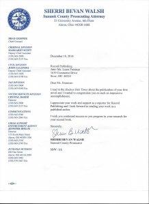 Walsh letter